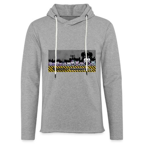 #MarchOfRobots ! LineUp Nr 2 - Let sweatshirt med hætte, unisex