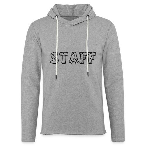 STAFF - Felpa con cappuccio leggera unisex