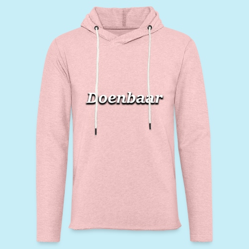 doenbaar - Sweat-shirt à capuche léger unisexe