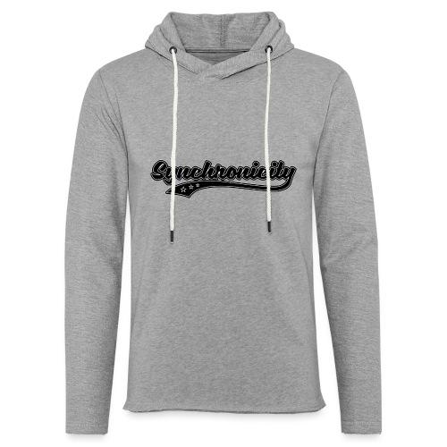 Synchronicity - Sweat-shirt à capuche léger unisexe