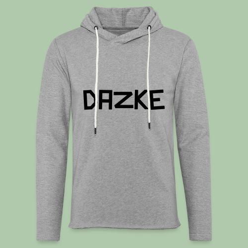 dazke_bunt - Leichtes Kapuzensweatshirt Unisex