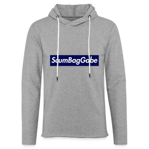 ScumBagGabe Blue XL Logo - Light Unisex Sweatshirt Hoodie