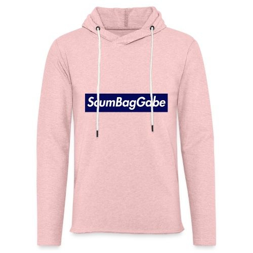 ScumBagGabe Blue XL Logo - Light Unisex Sweatshirt Hoodie