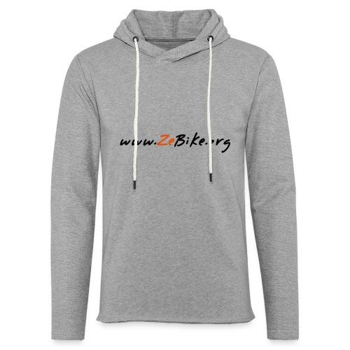 wwwzebikeorg s - Sweat-shirt à capuche léger unisexe