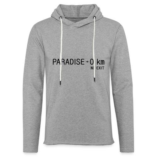 paradise0km - Leichtes Kapuzensweatshirt Unisex
