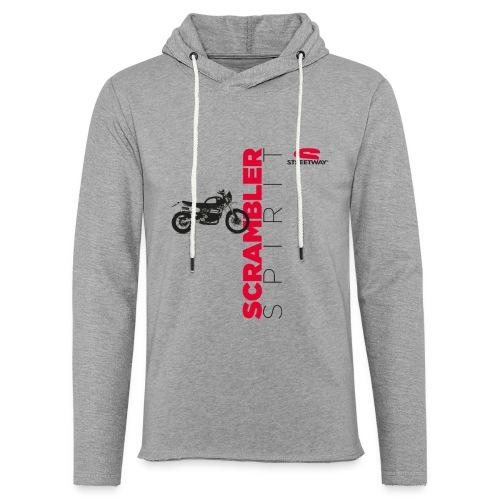 M0126 - Sweat-shirt à capuche léger unisexe