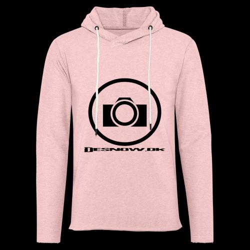 sort2 png - Let sweatshirt med hætte, unisex