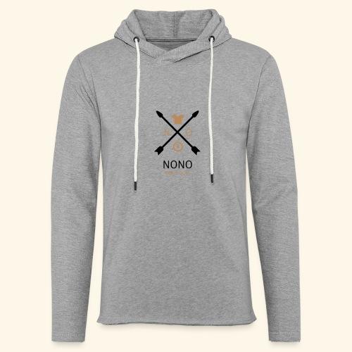NONO SINCE 2017 - Let sweatshirt med hætte, unisex