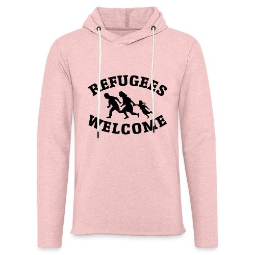 Refugees Welcome - Sweat-shirt à capuche léger unisexe