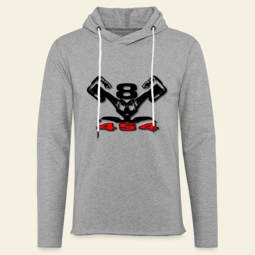 454 v8 - Let sweatshirt med hætte, unisex