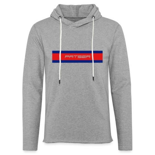 PATSER - Lichte hoodie unisex