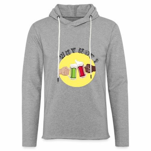 WHY NOT ? (WN) - Sweat-shirt à capuche léger unisexe