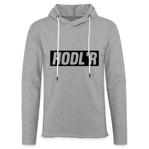 HODL'R - For the real crypto fans - Lichte hoodie unisex