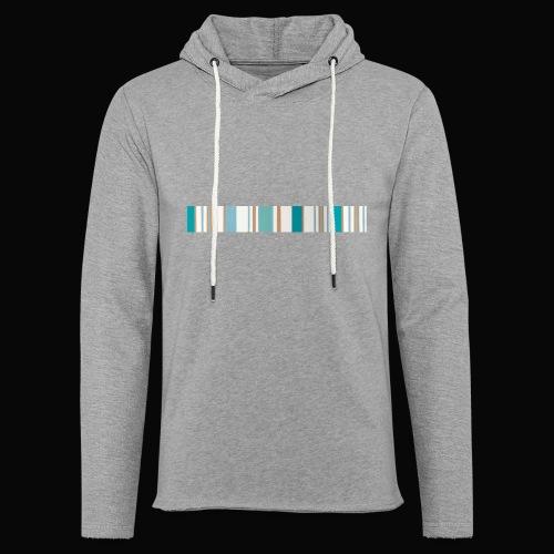 stripes - Sudadera ligera unisex con capucha