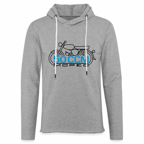 Scooter S50 50 ccm emblem - Light Unisex Sweatshirt Hoodie