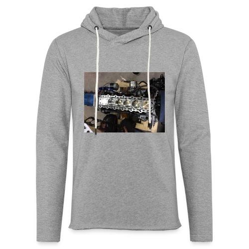 Motor tröja - Lätt luvtröja unisex