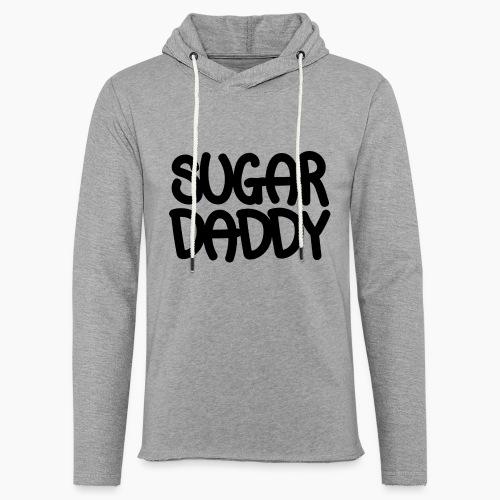 Sugar Daddy Zwart - Lichte hoodie unisex