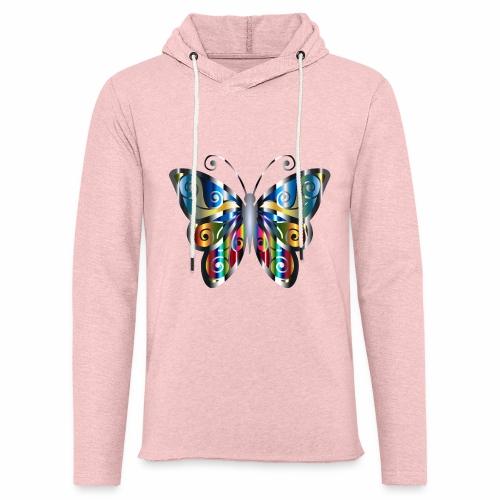 butterfly - Lekka bluza z kapturem