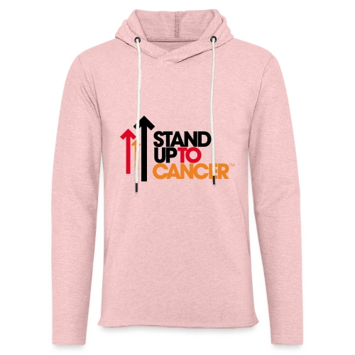 stand up to cancer logo - Light Unisex Sweatshirt Hoodie