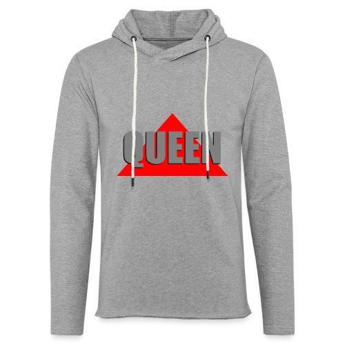 Queen, by SBDesigns - Sweat-shirt à capuche léger unisexe