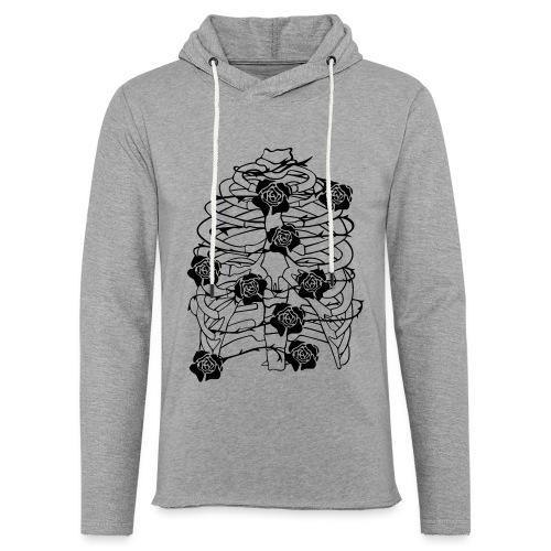 Inhale - Leichtes Kapuzensweatshirt Unisex