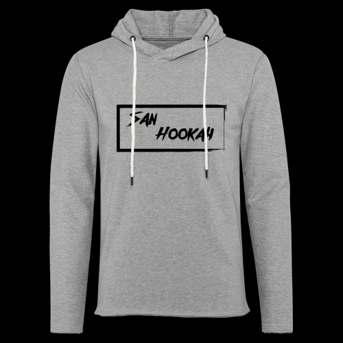 Design 1 Black Edition - Leichtes Kapuzensweatshirt Unisex