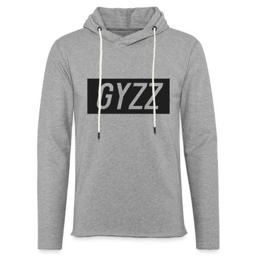 Gyzz - Let sweatshirt med hætte, unisex