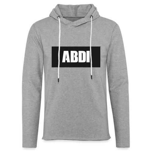 Abdi - Light Unisex Sweatshirt Hoodie