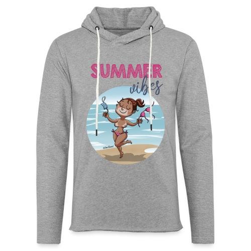 SUMMER vibes - Sudadera ligera unisex con capucha