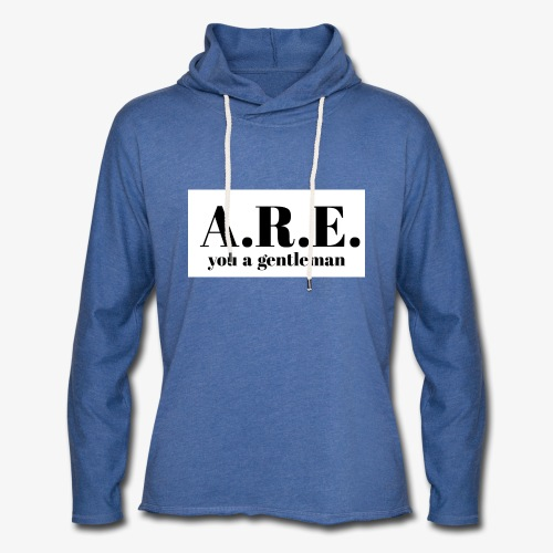ARE you a gentleman - Light Unisex Sweatshirt Hoodie