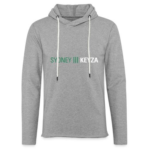 Sydney 3 Logo - Leichtes Kapuzensweatshirt Unisex