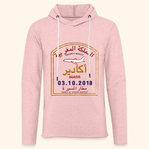 Agadir - Sweat-shirt à capuche léger unisexe