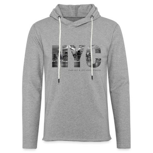 NYC - Lichte hoodie unisex