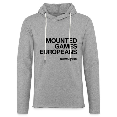 Mounted Games Europeans Hoodie - Leichtes Kapuzensweatshirt Unisex