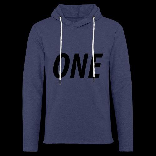 WEAREONE x LETTERS - Lichte hoodie unisex