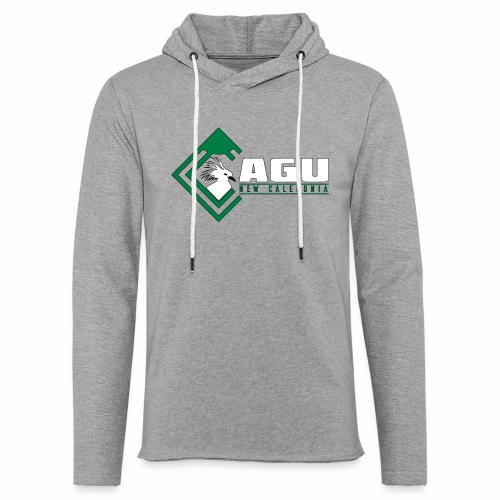 Cagu New Caledonia - Sweat-shirt à capuche léger unisexe