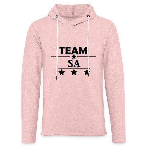 Team SA Logo - Lätt luvtröja unisex