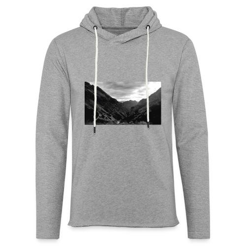 Wanderlust - Lichte hoodie unisex