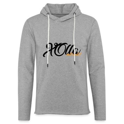 [Hoodie] X0lla-Spruch - Leichtes Kapuzensweatshirt Unisex