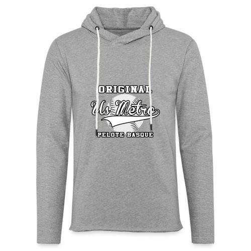 origiinalUSMETRO2 png - Sweat-shirt à capuche léger unisexe