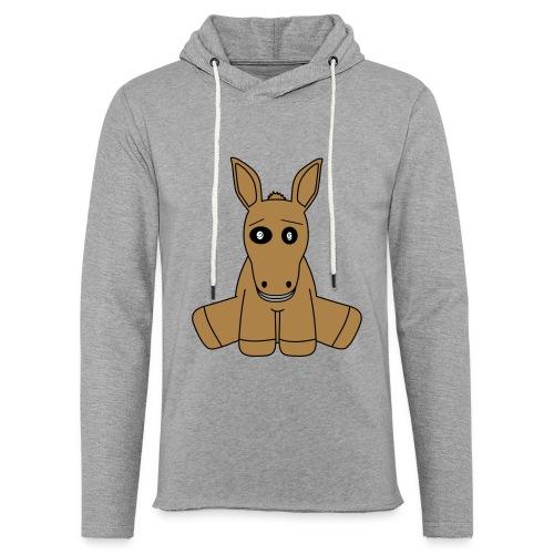 horse - Felpa con cappuccio leggera unisex