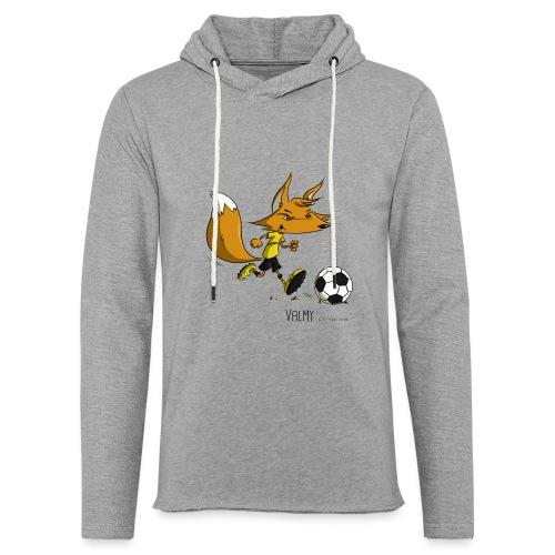 Valmy mascotte - Sweat-shirt à capuche léger unisexe