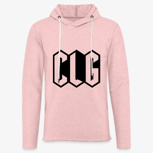 CLG DESIGN black - Sweat-shirt à capuche léger unisexe