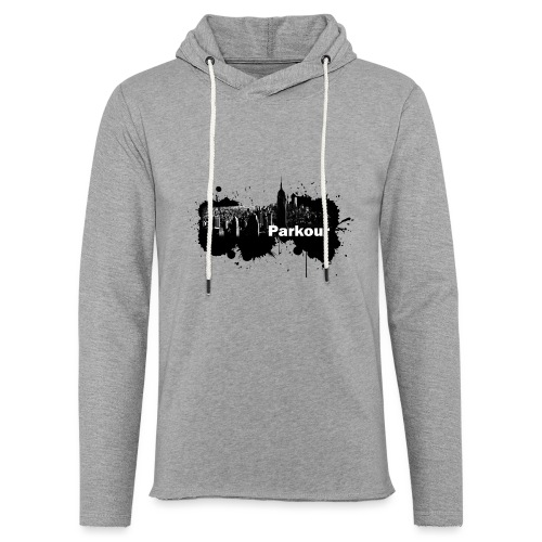 Parkour Splash New York - Let sweatshirt med hætte, unisex
