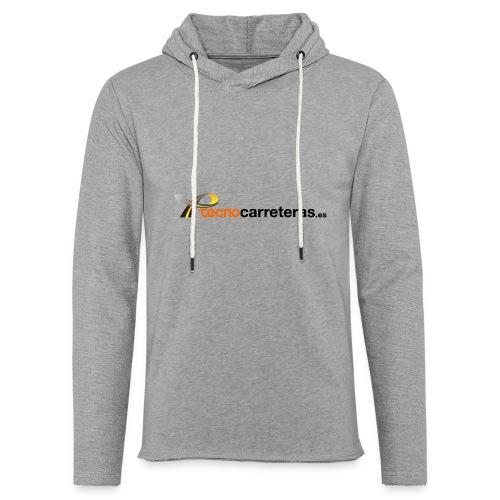 Tecnocarreteras - Sudadera ligera unisex con capucha