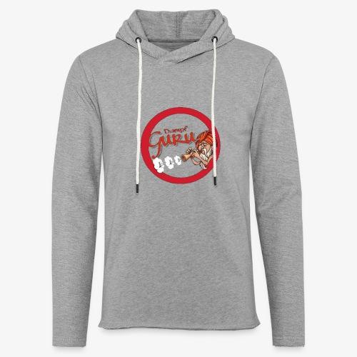 Dampf Guru Logo - Leichtes Kapuzensweatshirt Unisex