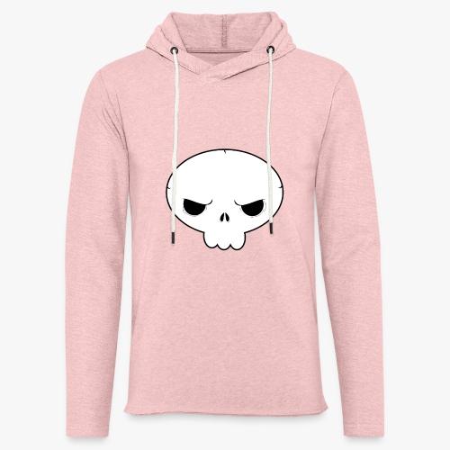 Skullie - Let sweatshirt med hætte, unisex