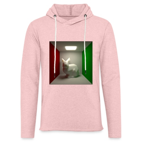 Bunny in a Box - Light Unisex Sweatshirt Hoodie