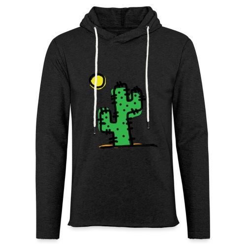 Cactus single - Felpa con cappuccio leggera unisex