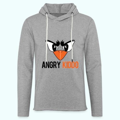 Angrykiddo - Sweat-shirt à capuche léger unisexe